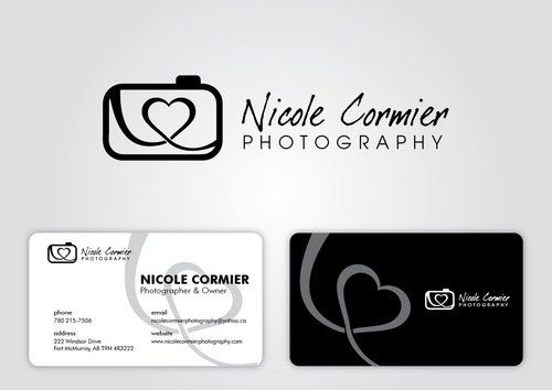 Nicole Cormier Photography Business Cards and Stationery  Draft # 20 by sikamcoy222
