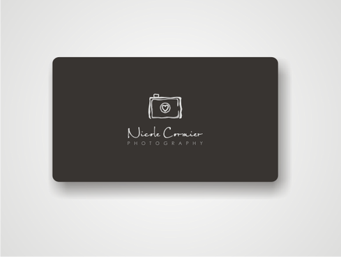 Nicole Cormier Photography Business Cards and Stationery Winning Design by iislogo