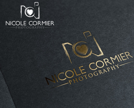 Nicole Cormier Photography A Logo, Monogram, or Icon  Draft # 86 by drakoer