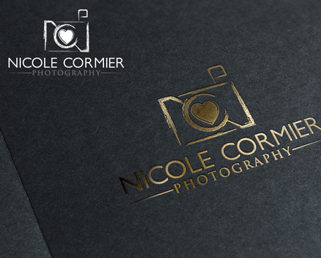 Nicole Cormier Photography A Logo, Monogram, or Icon  Draft # 87 by drakoer