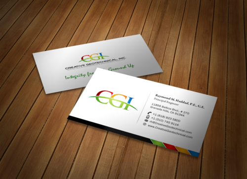 Integrity from the Ground Up Business Cards and Stationery  Draft # 166 by einsanimation