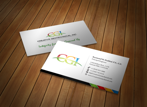 Integrity from the Ground Up Business Cards and Stationery  Draft # 173 by einsanimation