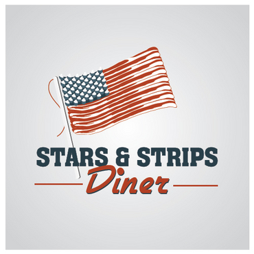 Stars & Strips Diner A Logo, Monogram, or Icon  Draft # 5 by melody1