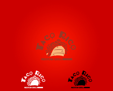 Taco Rico  A Logo, Monogram, or Icon  Draft # 7 by drakoer