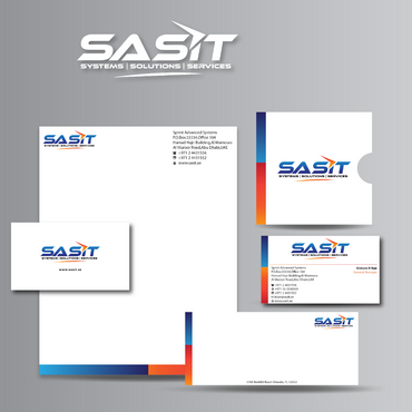 Sprint Advanced Systems Business Cards and Stationery  Draft # 170 by jpgart92
