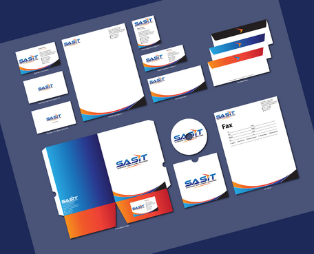 Sprint Advanced Systems Business Cards and Stationery  Draft # 171 by jpgart92