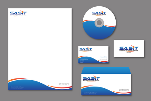 Sprint Advanced Systems Business Cards and Stationery  Draft # 180 by jpgart92