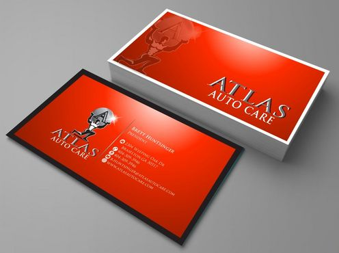 Atlas Auto Care Business Cards and Stationery  Draft # 83 by Deck86