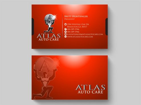 Atlas Auto Care Business Cards and Stationery  Draft # 112 by Deck86