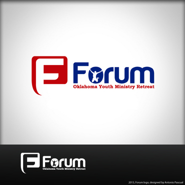 Forum A Logo, Monogram, or Icon  Draft # 19 by AntonioPascual