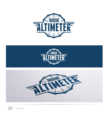 Altimeter 2992 A Logo, Monogram, or Icon  Draft # 12 by apstudio