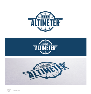 Altimeter 2992 A Logo, Monogram, or Icon  Draft # 13 by apstudio