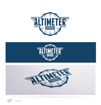 Altimeter 2992 A Logo, Monogram, or Icon  Draft # 14 by apstudio