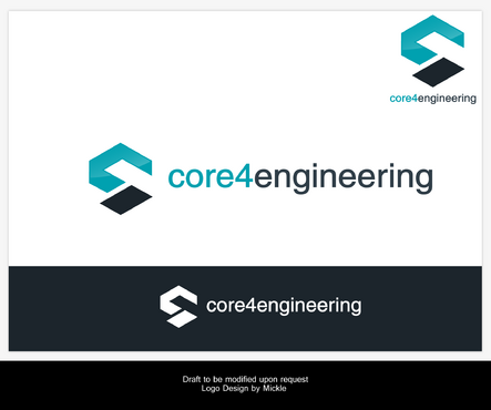 Core 4 Engineering A Logo, Monogram, or Icon  Draft # 128 by mickle