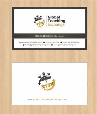 Global Teaching Exchange Business Cards and Stationery  Draft # 153 by Deck86