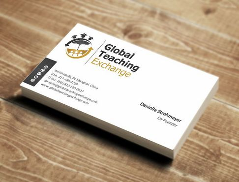 Global Teaching Exchange Business Cards and Stationery  Draft # 158 by Deck86