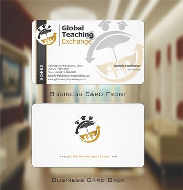 Global Teaching Exchange Business Cards and Stationery  Draft # 167 by Deck86