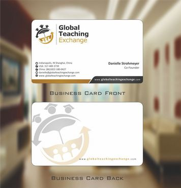 Global Teaching Exchange Business Cards and Stationery  Draft # 180 by Deck86