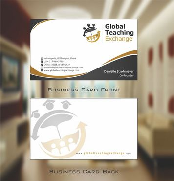 Global Teaching Exchange Business Cards and Stationery  Draft # 181 by Deck86