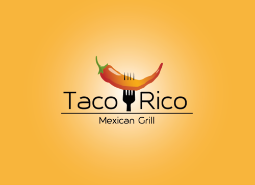 Taco Rico  A Logo, Monogram, or Icon  Draft # 14 by evgenyya