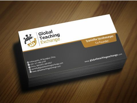 Global Teaching Exchange Business Cards and Stationery  Draft # 206 by Deck86