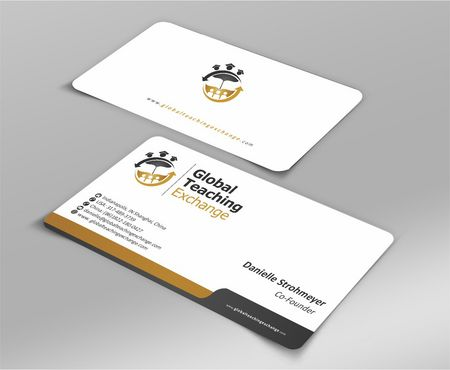 Global Teaching Exchange Business Cards and Stationery  Draft # 208 by Deck86