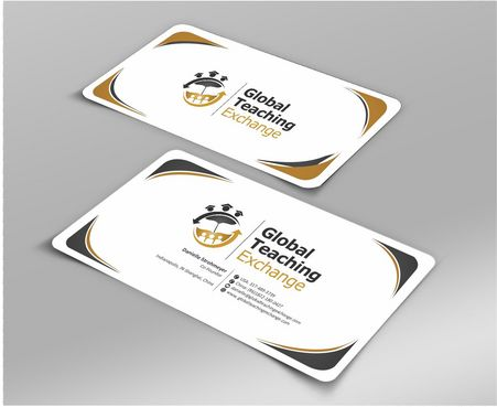 Global Teaching Exchange Business Cards and Stationery  Draft # 209 by Deck86