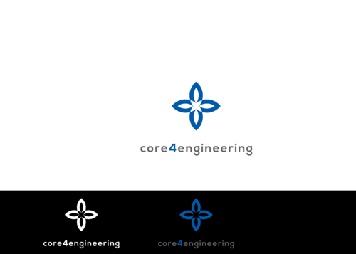 Core 4 Engineering A Logo, Monogram, or Icon  Draft # 132 by 02091983at