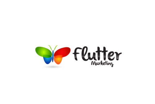 Flutter Marketing A Logo, Monogram, or Icon  Draft # 52 by decentdesign