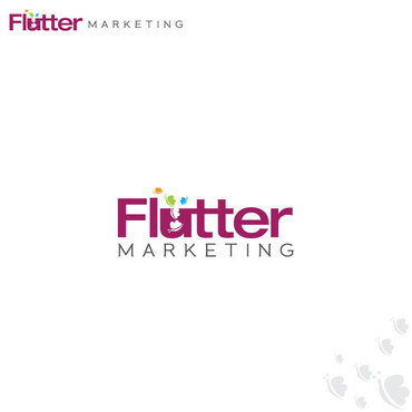 Flutter Marketing A Logo, Monogram, or Icon  Draft # 57 by Logoziner