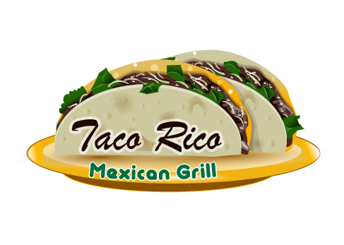 Taco Rico  A Logo, Monogram, or Icon  Draft # 21 by Designfeedz