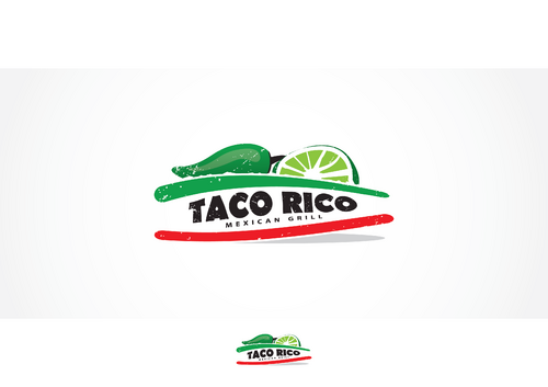 Taco Rico  A Logo, Monogram, or Icon  Draft # 22 by skysthelimit