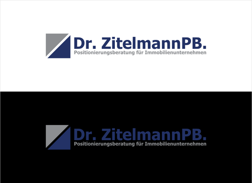 Dr. ZitelmannPB.  A Logo, Monogram, or Icon  Draft # 97 by dhira