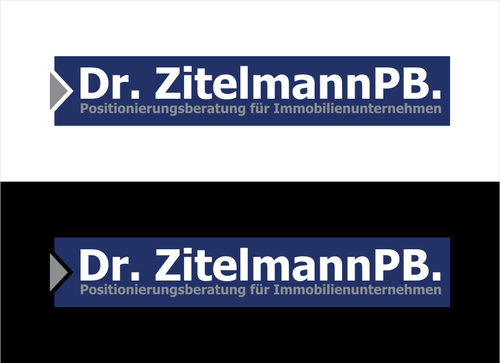 Dr. ZitelmannPB.  A Logo, Monogram, or Icon  Draft # 99 by dhira