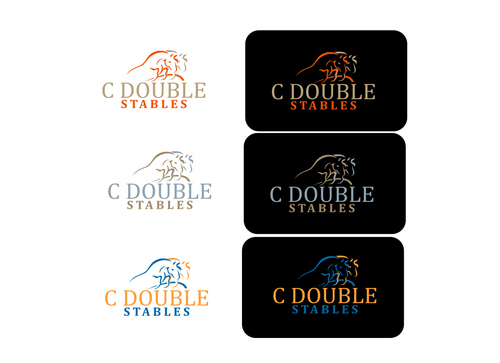 C Double Stables A Logo, Monogram, or Icon  Draft # 25 by Foalart