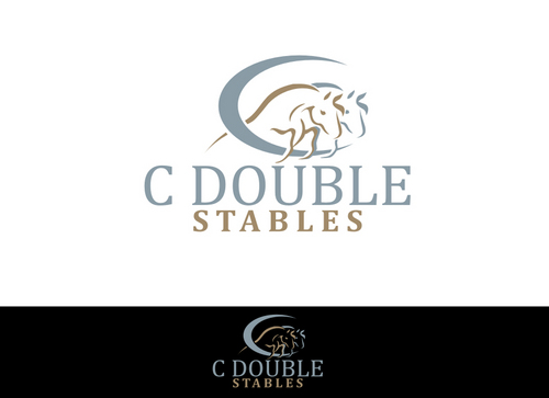 C Double Stables A Logo, Monogram, or Icon  Draft # 26 by Foalart