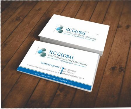 ILC Global Ltd Business Cards and Stationery  Draft # 166 by Deck86