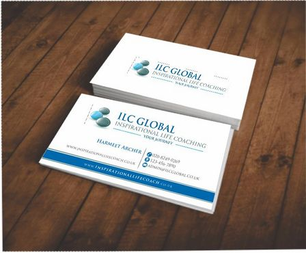 ILC Global Ltd Business Cards and Stationery  Draft # 168 by Deck86