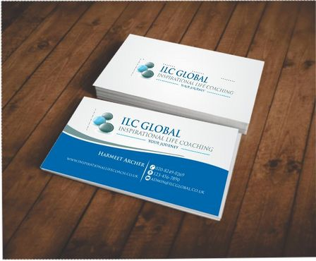 ILC Global Ltd Business Cards and Stationery  Draft # 179 by Deck86
