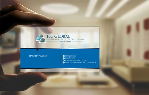 ILC Global Ltd Business Cards and Stationery  Draft # 206 by Deck86
