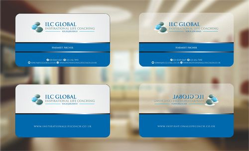 ILC Global Ltd Business Cards and Stationery  Draft # 208 by Deck86