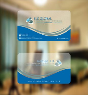ILC Global Ltd Business Cards and Stationery  Draft # 212 by Deck86