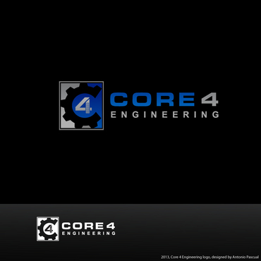 Core 4 Engineering A Logo, Monogram, or Icon  Draft # 155 by AntonioPascual