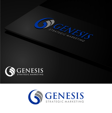 Genesis Strategic Marketing A Logo, Monogram, or Icon  Draft # 26 by zonkcreative