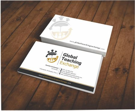 Global Teaching Exchange Business Cards and Stationery  Draft # 214 by Deck86