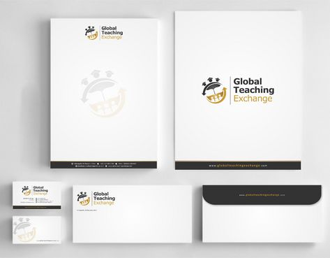 Global Teaching Exchange Business Cards and Stationery  Draft # 215 by Deck86