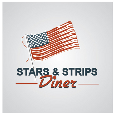 Stars & Strips Diner A Logo, Monogram, or Icon  Draft # 11 by melody1