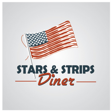 Stars & Strips Diner A Logo, Monogram, or Icon  Draft # 12 by melody1