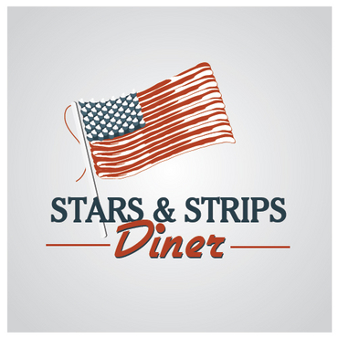 Stars & Strips Diner A Logo, Monogram, or Icon  Draft # 13 by melody1