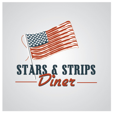 Stars & Strips Diner A Logo, Monogram, or Icon  Draft # 15 by melody1